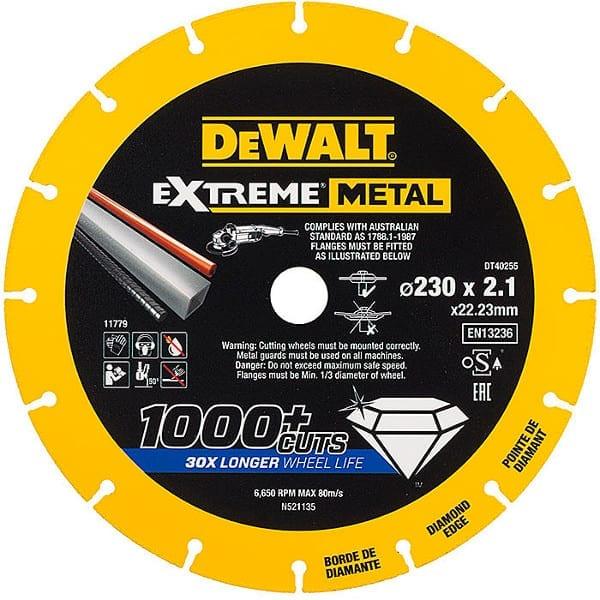Δίσκος κοπής Extreme DT40255 DEWALT