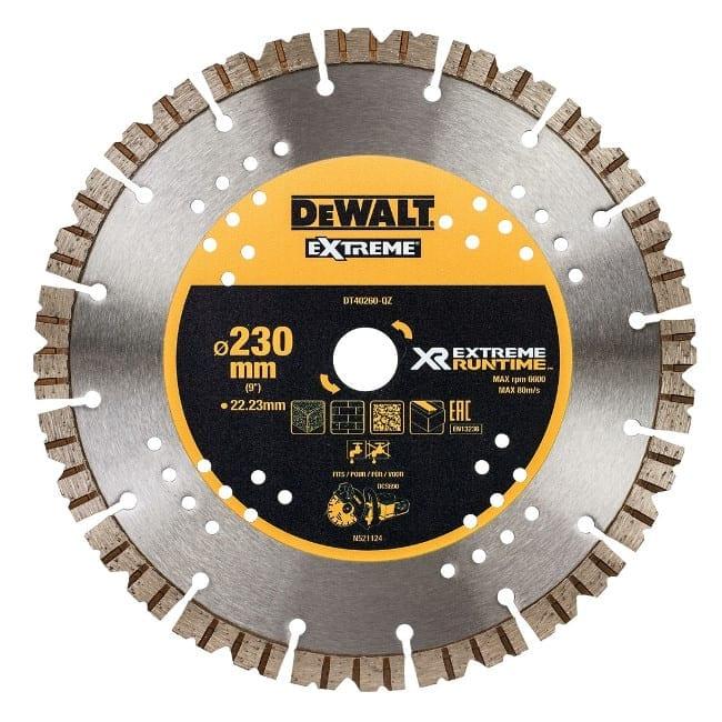 Δίσκος κοπής Extreme DT40260 DEWALT