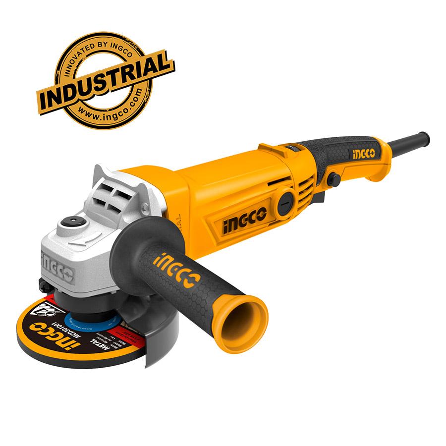 Γωνιακός Τροχός 1010W Φ125mm AG10108-5 INGCO