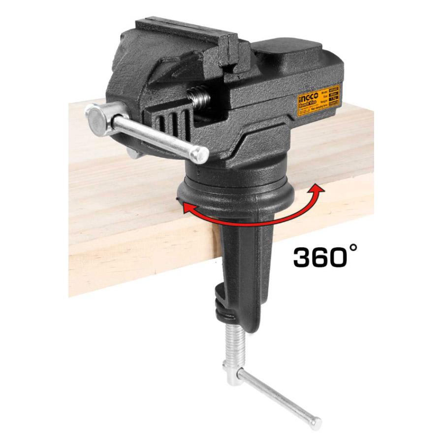 Μέγγενη πάγκου 360° 60mm HBV082 INGCO