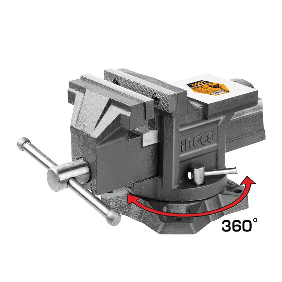 Μέγγενη πάγκου 360° 150mm HBV086 INGCO
