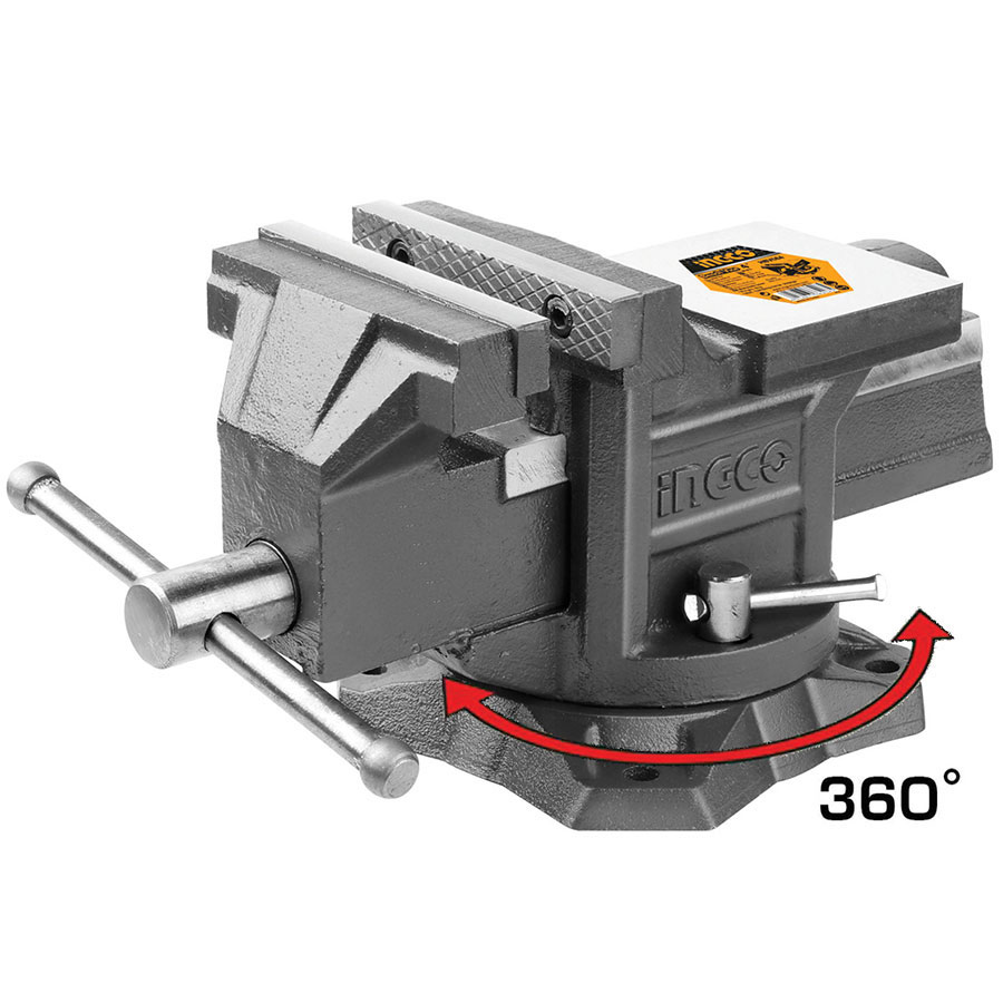 Μέγγενη πάγκου 360° 200mm HBV088 INGCO