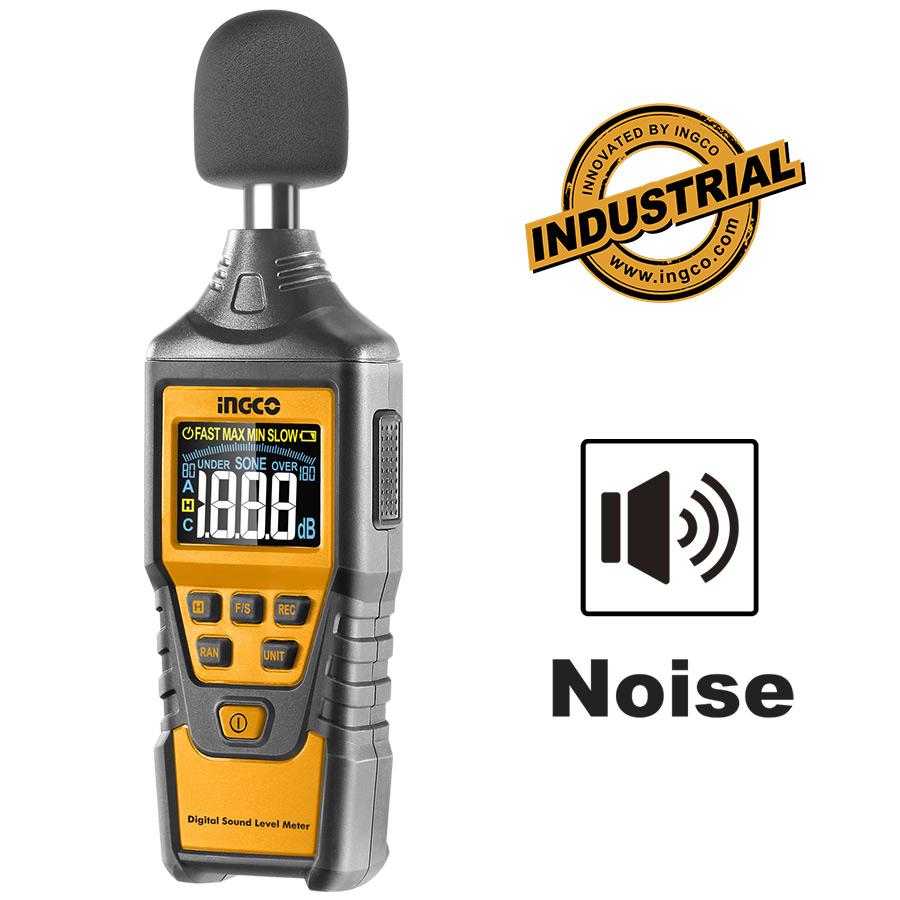 Ψηφιακός μετρητής ήχου HETSL01 INGCO