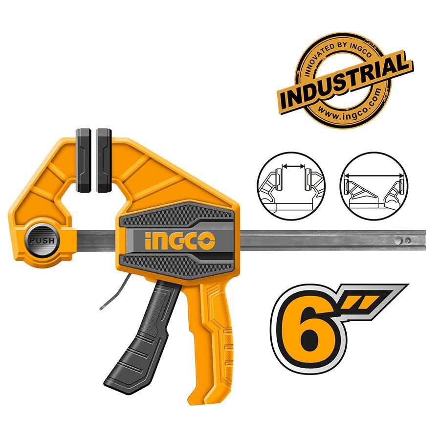 """Σφιγκτήρας αυτόματος 6"""" HQBC01601 INGCO"""