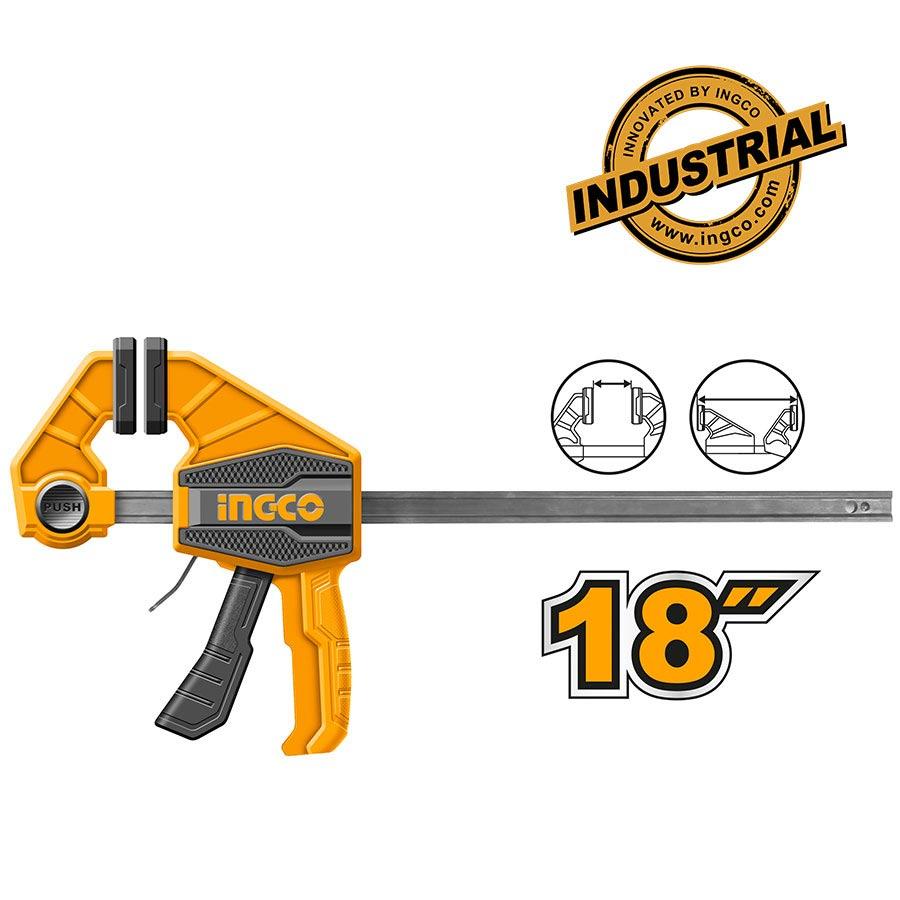 Σφιγκτήρας αυτόματος 18″ HQBC01603 INGCO