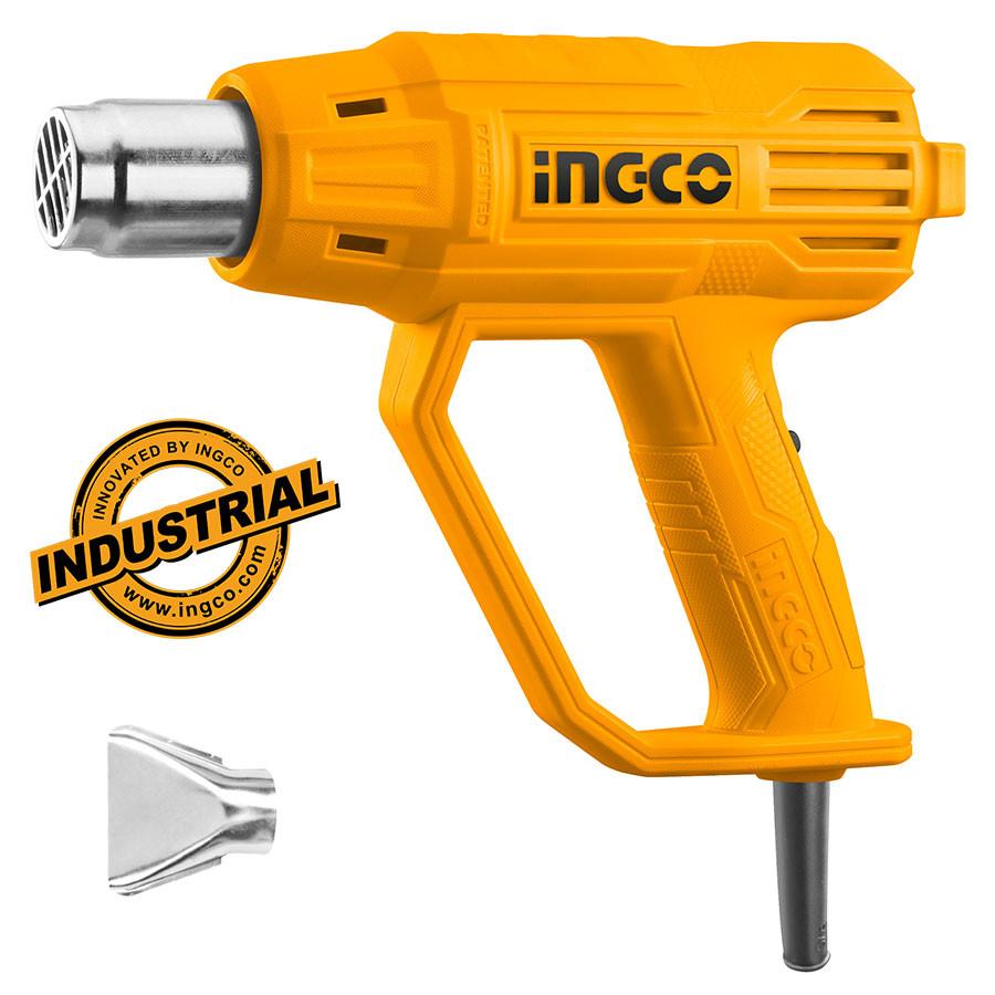 Πιστόλι θερμού αέρα με 1 ακροφύσιο 2000W HG2000385 INGCO