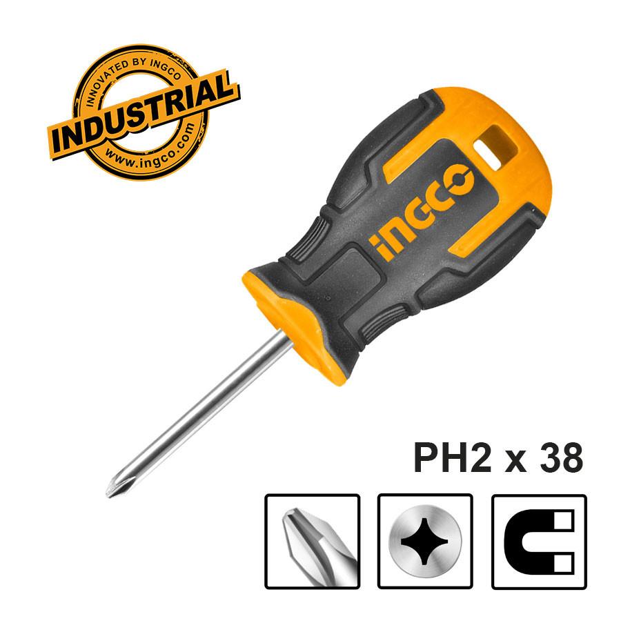 Κατσαβίδι νάνος PH2 HS68PH2038 INGCO