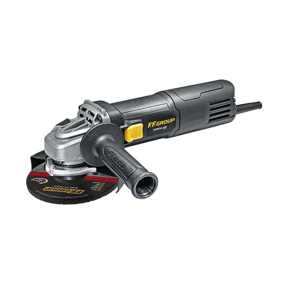 Γωνιακός τροχός 125mm 1200W AG125/1200E HD 45589 FF GROUP