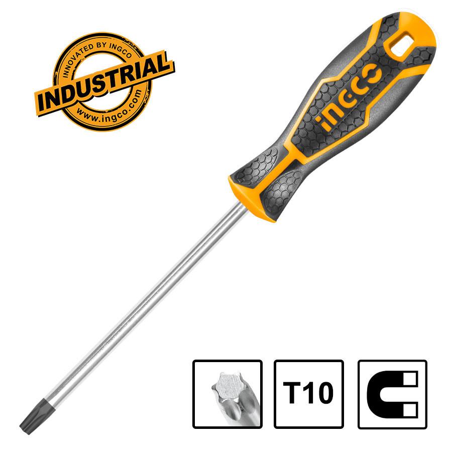 Κατσαβίδι Torx T10x100mm HS28T10100 INGCO